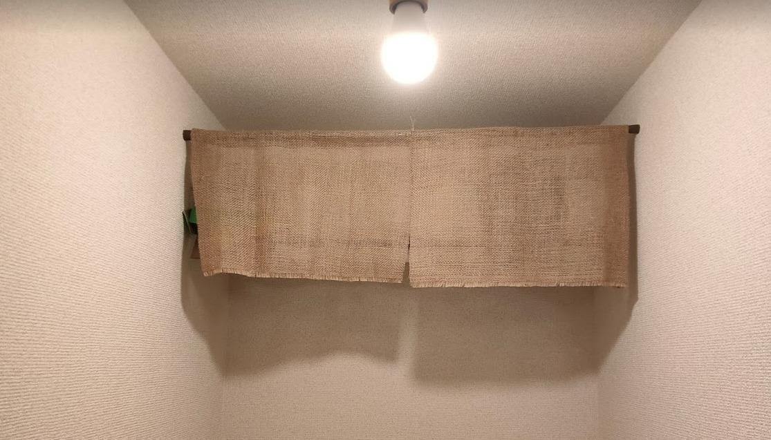 【200円DIY】トイレットペーパー置き場の目隠しを作る【生活感のないおしゃれトイレ】